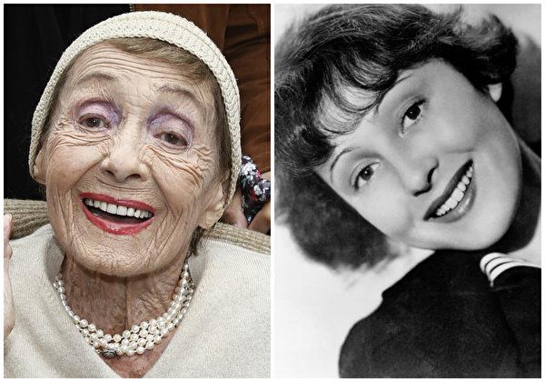 好莱坞著名影星、两届奥斯卡影后路易丝‧赖纳于12月29日辞世,享年104岁。(Getty Images、维基百科公共领域/大纪元合成)
