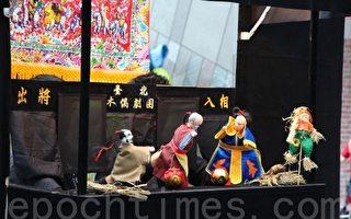 台北木偶剧团的布袋戏。(兰阳博物馆提供)