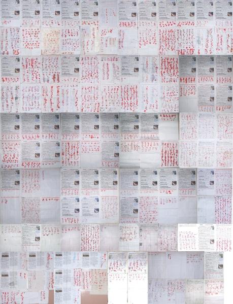從2013年12月份開始到現在,一年的時間,僅河北省張家口地區、衡水地區及天津部份地區就有八千多名民眾簽名、按手印,譴責中共活體強摘法輪功學員器官、殺人牟利的罪行。(明慧網)