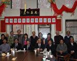 刘家所属的纽约龙岗亲义公所在哀悼遇害者的同时,为刘文健家属筹款,在不到半个小时的时间内,现场的10多人就募集到了逾三千三百元。(蔡溶/大纪元)