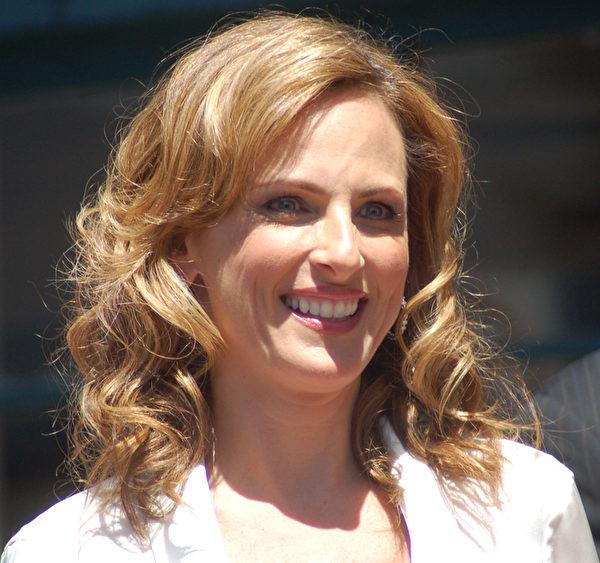 2009年5月,玛丽‧麦特琳于好莱坞星光大道摘星。(维基百科公共领域)