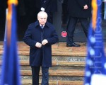 布莱顿在1月4日为刘文健举行的葬礼上。(杜国辉/大纪元)