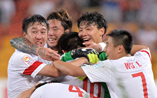 男足亞洲盃 中國隊獲小組第一 提前晉級