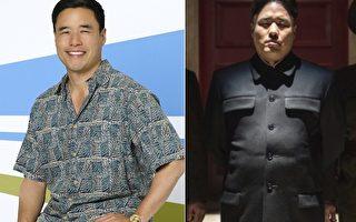 蘭德爾‧朴與他在《採訪》中扮演的朝鮮領導人。(ABC,索尼影業/大紀元合成)