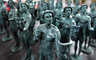 组图:美国演员工会奖杯出炉