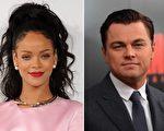 蕾哈娜与莱昂纳多恋情传出,令很多人意外。(Getty Images/大纪元合成)