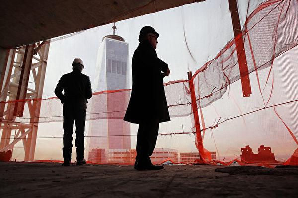 置身于四季私人寓所,世贸中心近在咫尺。(Spencer Platt/Getty Images)