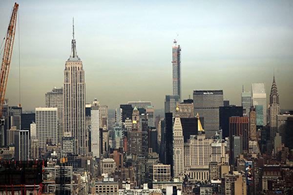 四季私人寓所将成为纽约下城第一、全市第二高的公寓。(Spencer Platt/Getty Images)