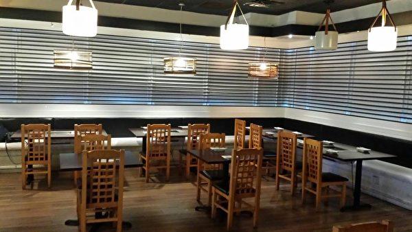 Surah韓國燒烤自助餐館優雅舒適的店堂設計。(商家提供圖)