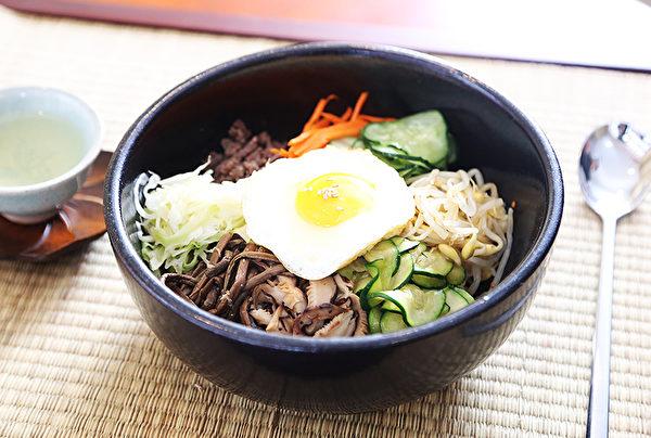 图:石锅拌饭。(谢凌/大纪元)