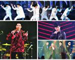 《2015超级巨星红白艺能大赏》集结台港韩中四地歌手轮番唱。(台视提供)
