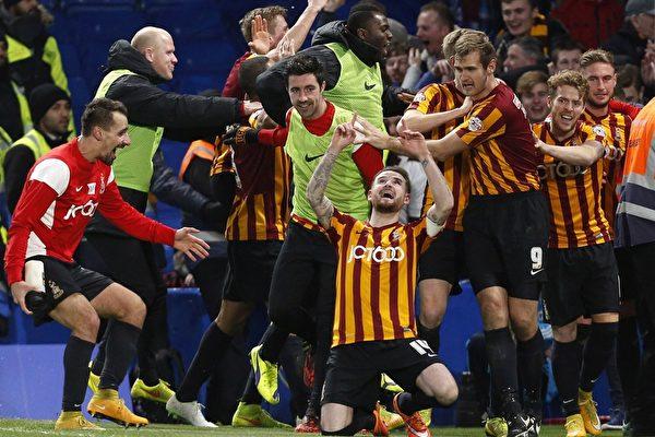 英格蘭足總盃 冷門迭出 切爾西曼城出局