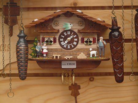 德國黑森林著名布穀鳥鐘。(pixabay)