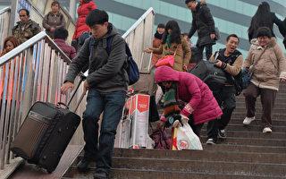 组图:2015中国新年返乡潮涌现