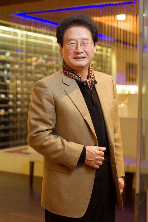 汉阳集团会长韩宅善先生。(张学慧/大纪元)