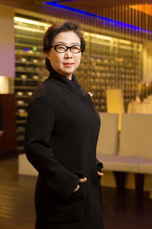 汉阳集团会长夫人韩惠珍女士。(张学慧/大纪元)