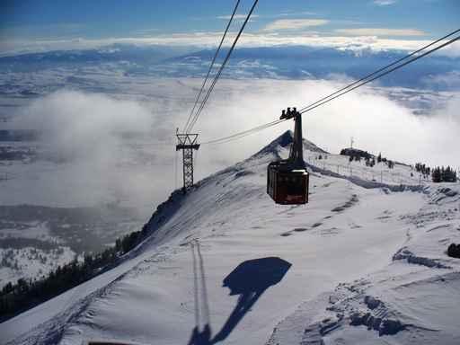 杰克逊霍尔(Jackson Hole)滑雪场。(Fotolia)