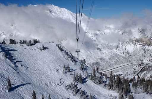 雪鸟(Snowbird Ski)滑雪场。(Fotolia)
