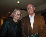 前銀行家和前古董商人Alex Franklin先生和花旗集團( Citicorp, Inc. )前副總裁、知名律師Ann Starcher女士(李辰/大紀元)