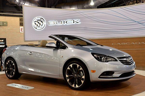 2016年的Buick Cascada。(良克霖/大紀元)