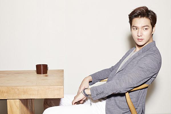 李敏镐近日为某男生时装品牌代言拍摄写真。(TNGT提供)