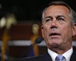美国会众议院议长博纳(John Boehner)2月15日表示,他已经准备好让国土安全局的运行资金在2月底到期后,部分关门,并表示这个责任在参议院的民主党人。(Somodevilla/Getty Images)