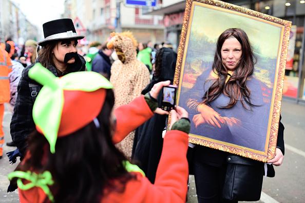 達芬奇的名畫「蒙娜麗莎」(Thomas Lohnes/Getty Images)