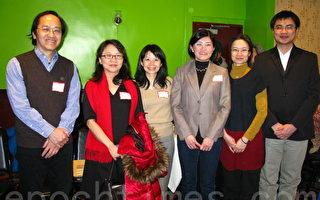 台灣訪問學者與專協餐敘