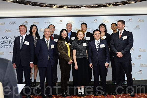 第九屆亞洲電影大獎在香港公佈了今年的提名名單。(宋祥龍/大紀元)