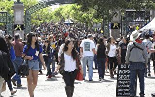 加州大學名校控制外州招生人數