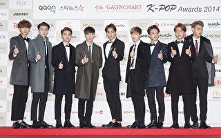 韩团EXO新歌 横扫韩国9个排行榜