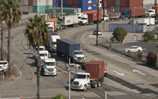 佛州州長說加州港口太擠 欲搶生意