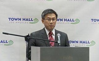受台湾外公影响 华裔江俊辉参选加州州长