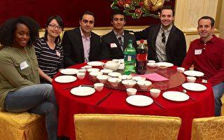 经文处办餐会 台湾留学生海外团聚