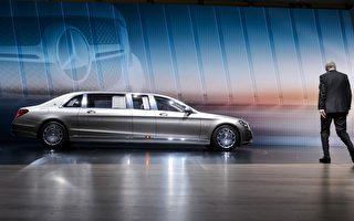 组图:6.5米长奔驰亮相第85届日内瓦车展