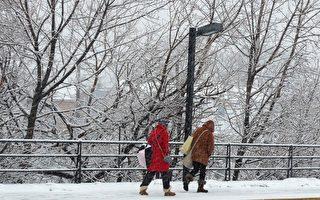 組圖:紐約再遇暴風雪襲擊