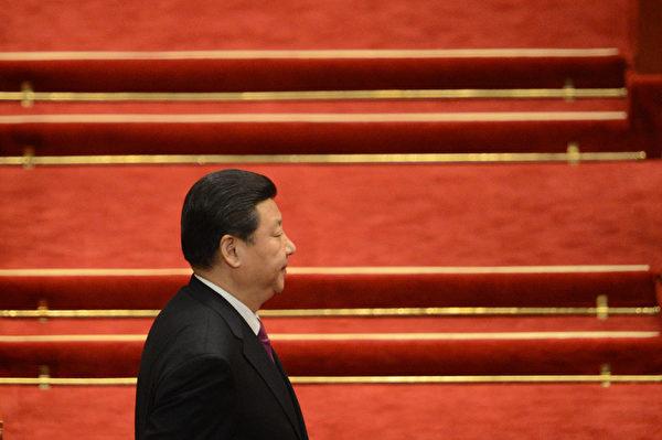 習近平當局「打虎」目前已拿下江澤民心腹,分析認為,習即將對江澤民發起重大行動。(GOH CHAI HIN/AFP)