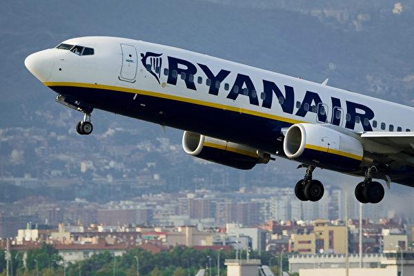 瑞安航空去年第三季虧損二千萬歐元