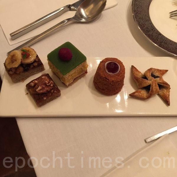 國賓推出北歐健康甜點拼盤(藍悅真/大紀元)