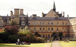 英國牛津大學(Oxford University)是唯一稱冠兩個學科(語言和地理學)的高校。(Oli Scarff/Getty Images)