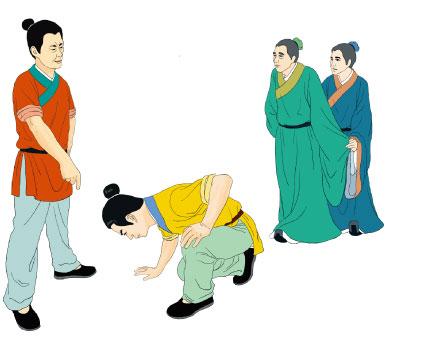 韩信能忍跨下之辱,成全汉家四百年江山。(大纪元图片)