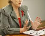 澳洲绿党领袖克里斯汀‧米尔恩(Christine Milne)近日赞扬了SBS电视台对活摘事件的揭露,并对中共践踏人权表示了关注。资料照片。(Stefan Postles/Getty Images)
