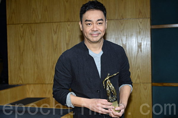 劉青雲憑電影《竊聽風雲3》奪最佳男主角。圖為資料照。(宋祥龍/大紀元)
