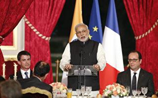 印度宣布从法国购买36架阵风式战斗机