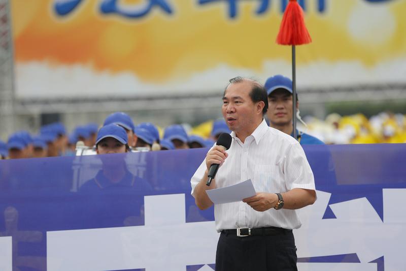 台北市議員張茂楠資料照。(李丹尼/大紀元)