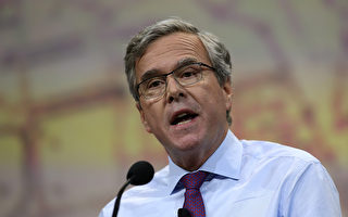 竞选总统必先瘦身 杰布布什变长脸尖下巴