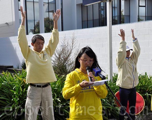 尚华女士当年还是北京的一名大学生,但她毫不犹豫地加入了4.25上访的行列。