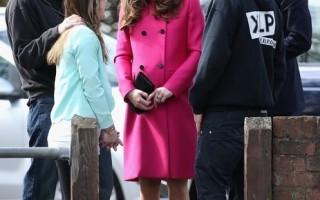 怀孕也要靓 凯特王妃引领时尚潮流行