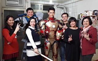 汪东城扮钢铁人会偶像 靠视讯维系家人