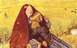 西方名画解读:米莱的《盲女》